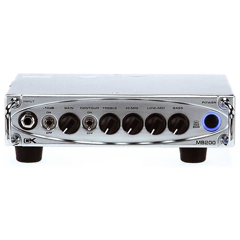 Gallien-Krueger MB200 Mini Bass Head 2018 Chrome image