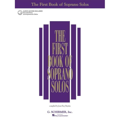 The First Book of Soprano Solos (w/ 2 Accompaniment CDs)