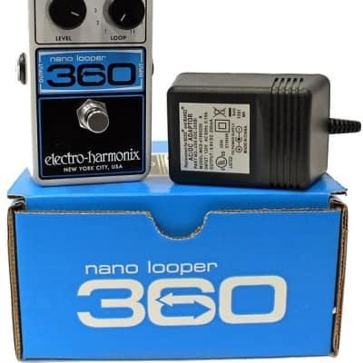 Electro Harmonix Nano Looper 360 w/ Power Supply Looping Pedal image