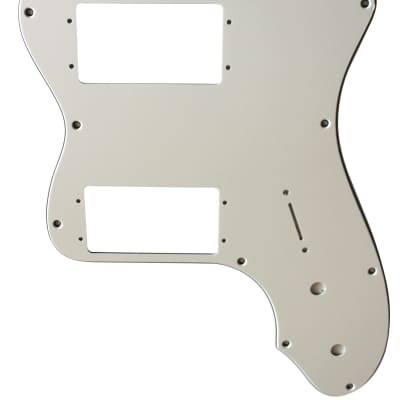 For Fender 3-Ply '72 Telecaster Thinline  Guitar Pickguard Scratch Plate, White