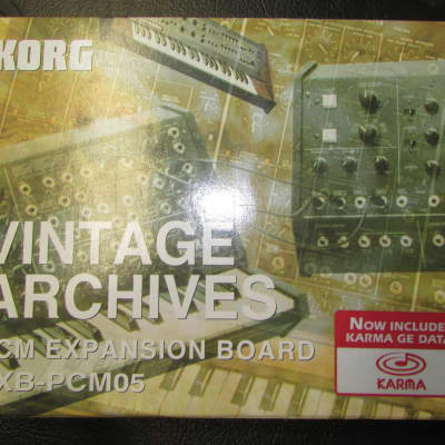Korg EXB-PCM05 Vintage Archives Expansion Board