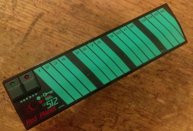 Red Planet SR512 Yamaha DX7 512 Patch Ram Cartridge