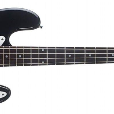 Oscar Schmidt 4 String 3/4 Size Electric Bass Black OB25B-A for sale