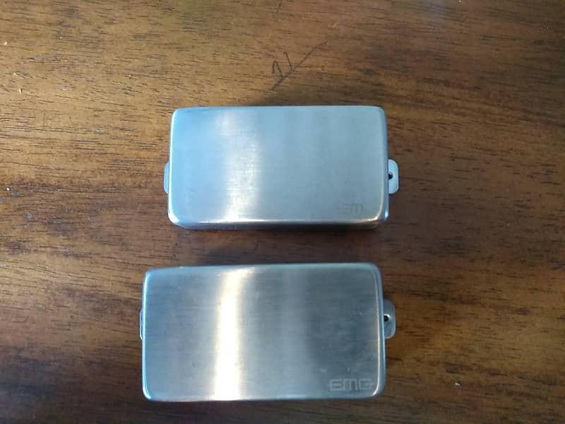emg 81 & 60 brushed nickel