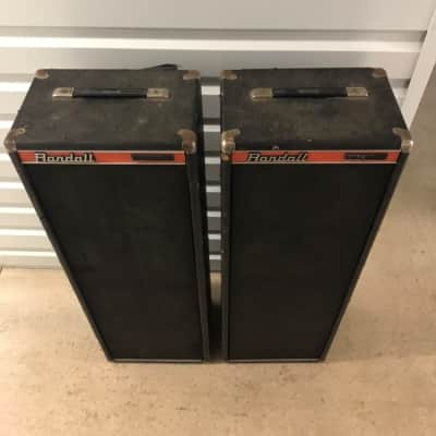 Randall RSC-4 PA Speaker Cabinets 1970s-1980s for sale