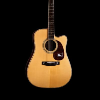 Peerless PD-85CE Acoustic Guitar Cutaway All Solid Wood Fishman Ellipse Matrix Blend Pickup EQ for sale
