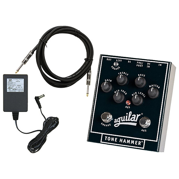 aguilar tone hammer 3 band preamp di bundle black geartree reverb. Black Bedroom Furniture Sets. Home Design Ideas