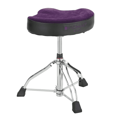 Tama HT550 1st Chair Glide Rider Drum Throne with Vibrant Color Cloth Top Seat