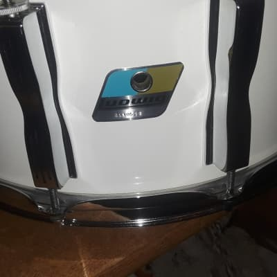 "Ludwig Classic Maple 6.5 X 14"" Mid-90s White Cortex Rap"
