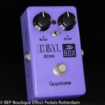 Guyatone PS-106 Dual Octave Box 1979 s/n 9120500 Japan