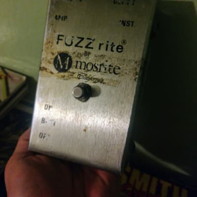 1968 Mosrite FUZZRITE Fuzz Pedal for sale