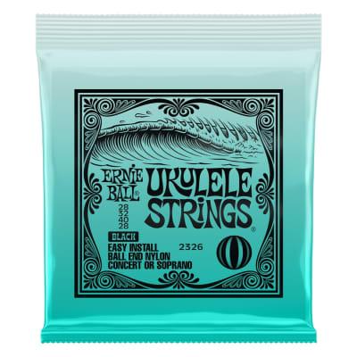 Ernie Ball 2326 Nylon Ukulele Strings Black