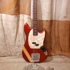 Fender Mustang Bass 1971 Competition Red