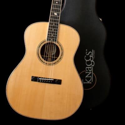 Knaggs Potomac Tier 2 Acoustic Guitar Natural-Authorized Dealer-DEMO for sale