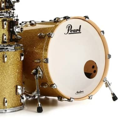 """Pearl MCT2216BX Masters Maple Complete 22x16"""" Bass Drum without Tom Mount"""