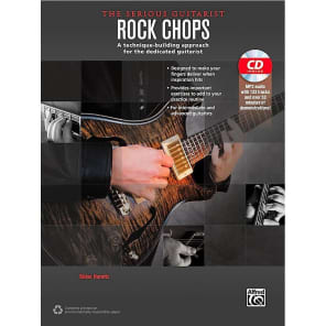 Alfred 00-40266 The Serious Guitarist: Rock Chops Book/CD