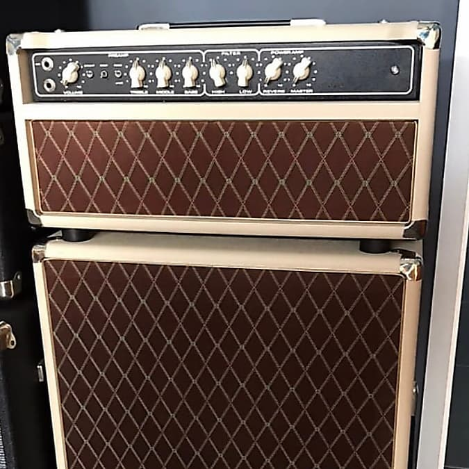 Sebago Sound Texas Flood 100 watt Head and 2x12 Cab Dumble SSS Clone Steel  String Singer #002 John Mayer 2015 Blonde