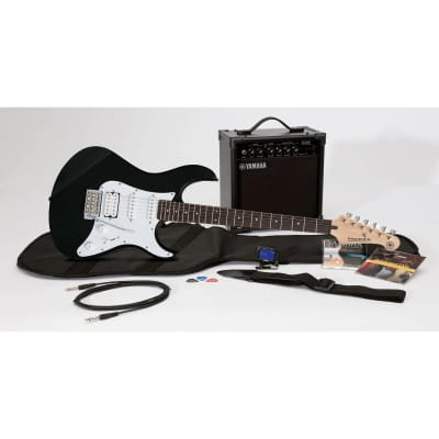 Yamaha GIGMAKER Electric Guitar Starter Package with Amp, Black