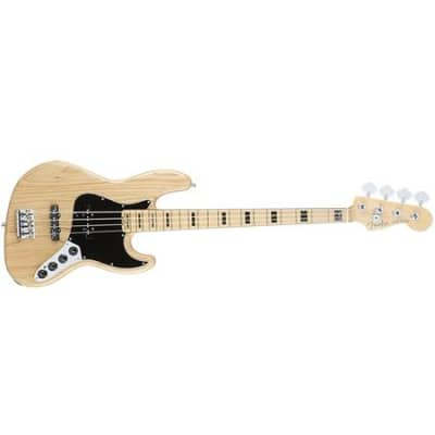 Fender Jazz Bass Am Elite Ash Mn Natural for sale