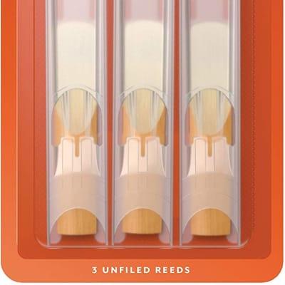 Rico Bb Clarinet Reeds, Strength 2.5, 3-pack