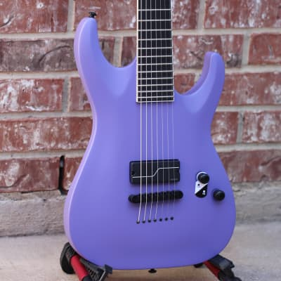 LTD Stephen Carpenter SC-607 Baritone Purple Satin for sale