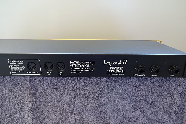 Digitech legend 2 guitar preamp multi-effects processor | #155714015.