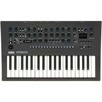 Korg Minilogue XD 4-Voice Polyphonic Synthesizer - Black