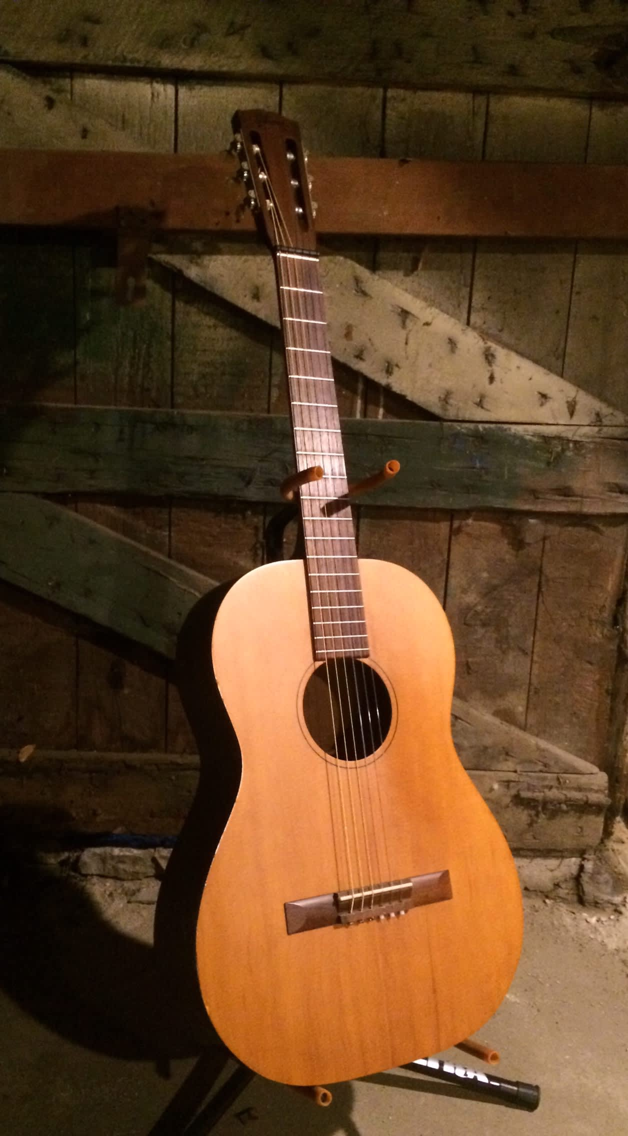 Vintage Gibson C-0 Nylon String Acoustic Guitar | Reverb
