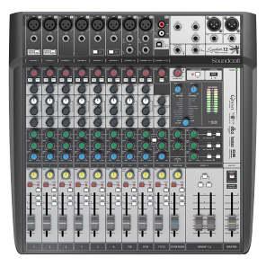 Soundcraft Signature 12 MTK 12-Channel Multi-Track Analog USB Mixer w/ Effects