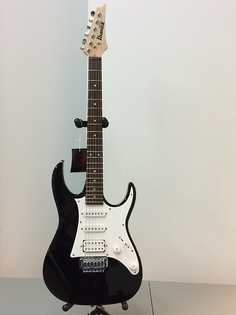Ibanez Gio Electric Black W White Pickguard Reverb