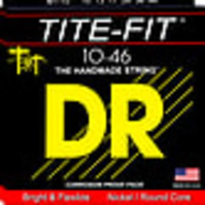 DR Tite-Fit electric guitar strings, Lite-N-Tite, .009