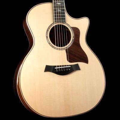 Taylor 814ce DLX Grand Auditorium Acoustic Guitar Natural for sale