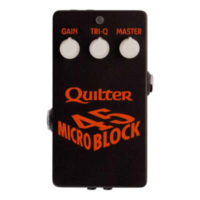 Quilter Labs  MicroBlock Micro Block 45  Pedal Sized Power Amp - Free Shipping in Lower 48 USA