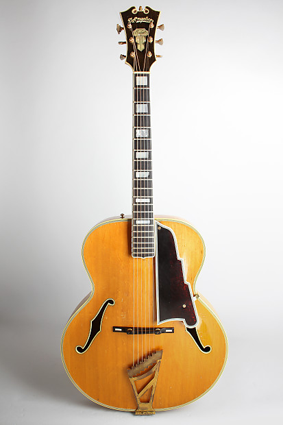 d angelico excel arch top acoustic guitar 1948 ser reverb