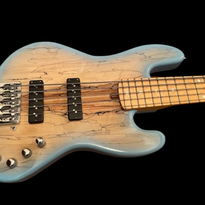 LowEnd 5/21 5 String Jazz Bass Guitar for sale