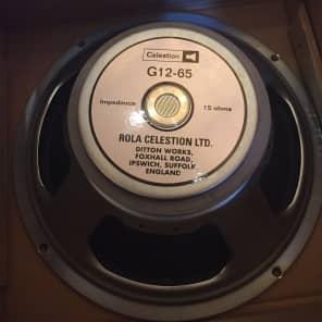"Celestion G12M-65 Creamback 12""  65-Watt 16 Ohm Speaker"