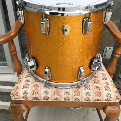 Ludwig Classic 15x14 Tom Gold Sparkle  - Hard to Find Size