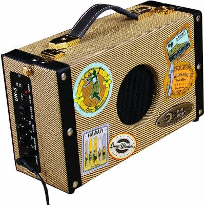 Luna Portable Suitcase Ukulele Amplifier, 5 Watts