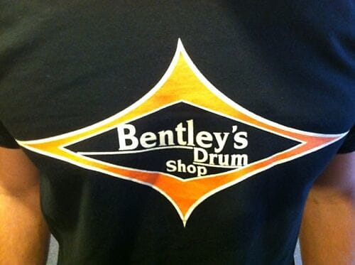 Bentley's Drum Shop Short Sleeve T-Shirt (SM-XL)