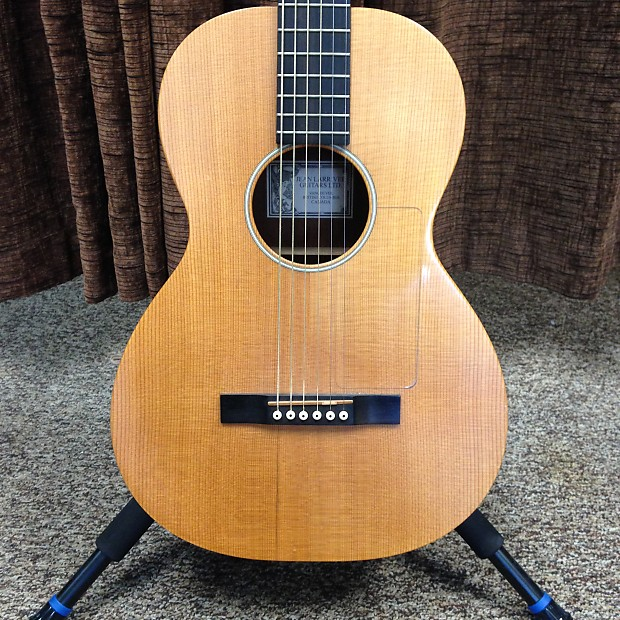 Larrivee O 01 Parlor Solid Wood Acoustic Guitar 1999 With