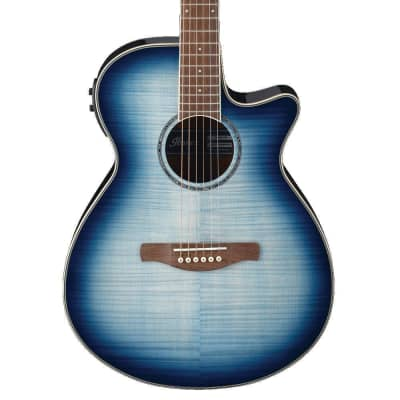 Ibanez AEG20II Acoustic Electric Guitar | Indigo Blue Burst for sale