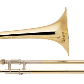 Bach 42BO Stradivarius Series Tenor Trombone w/ Open Wrap F Attachment Standard Rotor Valve
