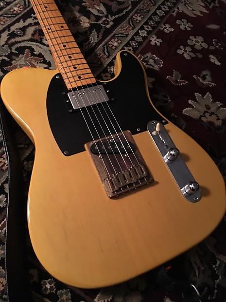 Fender Telecaster Tl52 Spl Keith Richards Micawber 1989