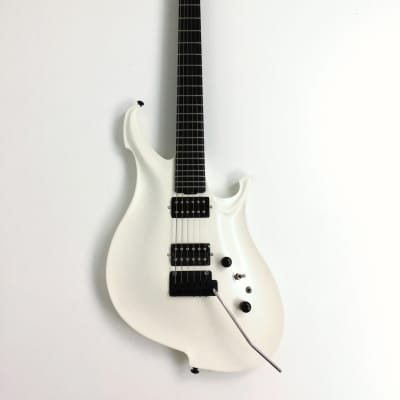 KOLOSS GT-4 Aluminum body Carbon fiber neck electric guitar White+Bag|GT-4 White| for sale