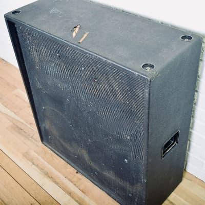 Sound City vintage 4x12 guitar speaker cab w/ Goodmans Audiom 12p 412 cabinet for sale