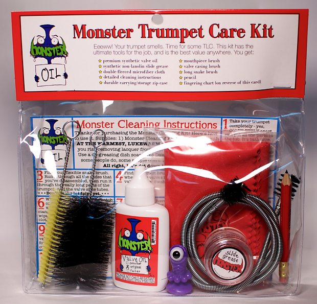 Cool Monster Cleaning And Care Kit For Trumpets Reverb Wiring Database Gramgelartorg
