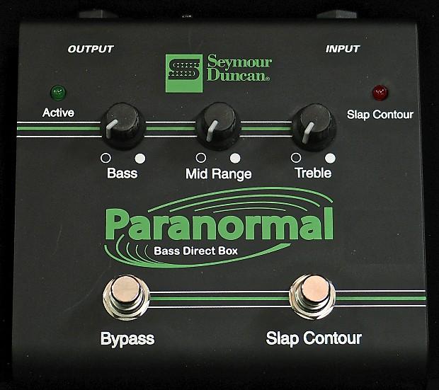 Seymour Duncan SFX-06 Paranormal Bass DI | West End Rock Shop | Reverb
