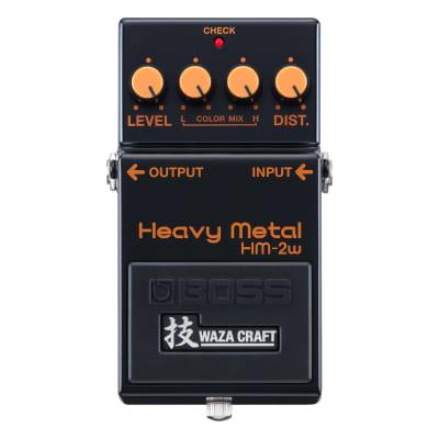 Boss HM-2W Heavy Metal Waza Craft