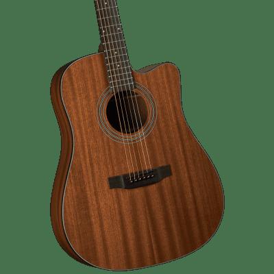 Bristol BD-15CE Dreadnaught Cutaway Acoustic/Electric Guitar for sale