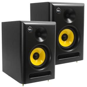 "Seismic Audio Spectra-5P-PAIR Active 1x5"" 55w Studio Reference Monitor Speakers (Pair)"
